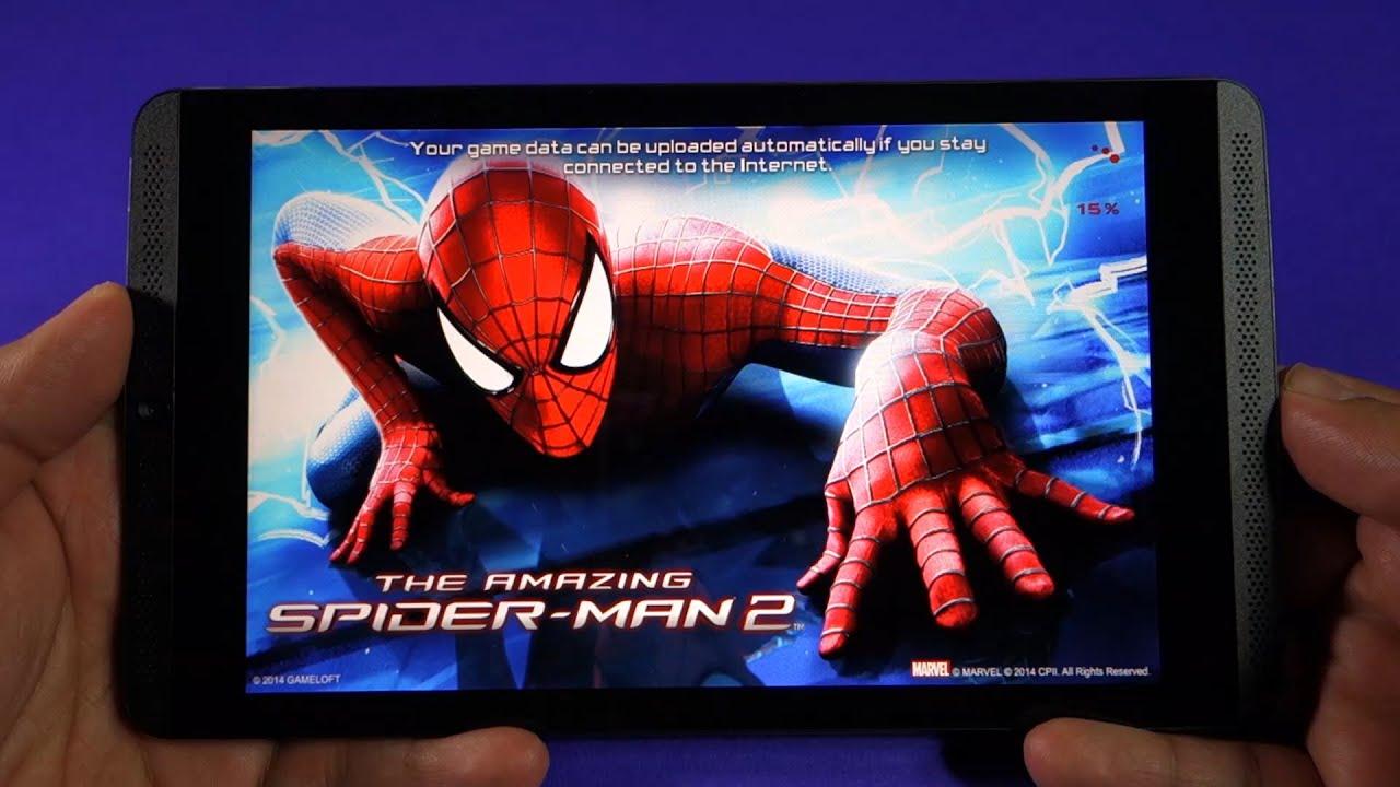 Nvidia Shield Tablet - Amazing Spiderman 2