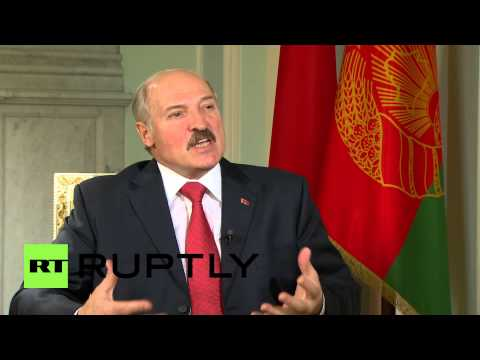 Russia: Belarus President: I am not a dictator