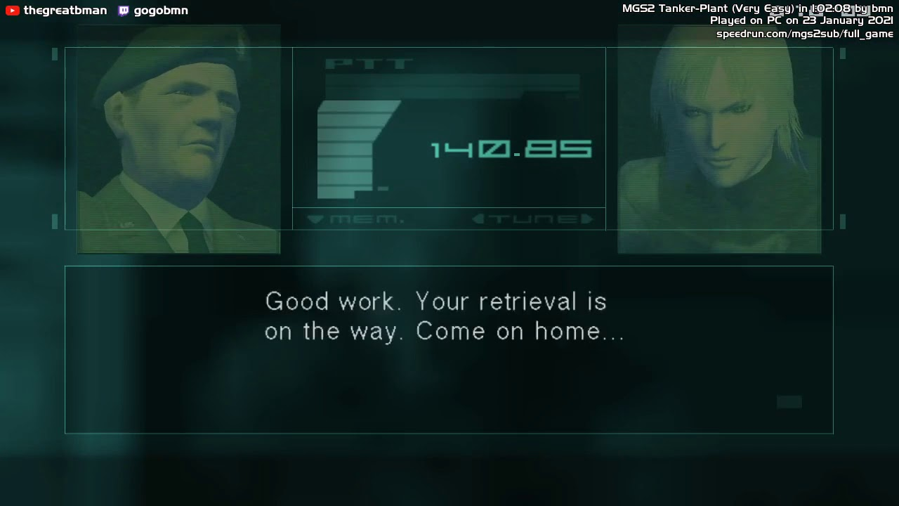 metal gear solid 2 tanker plant new game