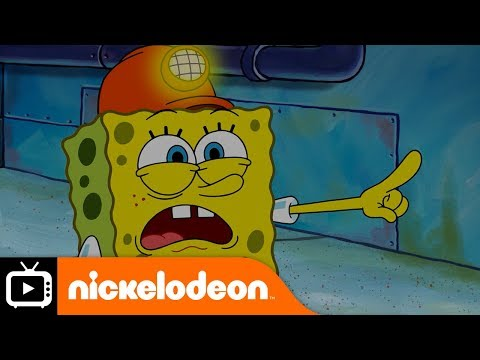 SpongeBob SquarePants | Sewer Snake | Nickelodeon UK