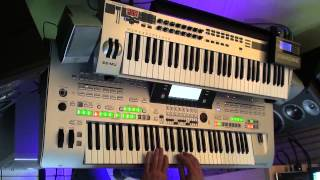 Скачать Are Friends Electric Gary Numan Remix On Tyros 3 With Cantabile Performer
