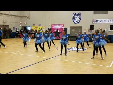 UPSM DANCE TEAM performance at Hanley International Academy