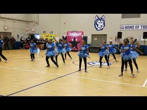 UPSM DANCE TEAM performance at Hanley International Academy
