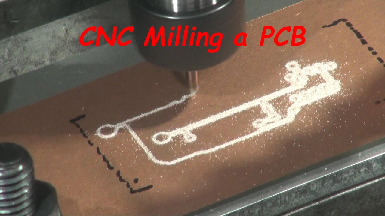 Cnc Milling Printed Circuit Boards Pcb Youtube Circuits Quality For Sale
