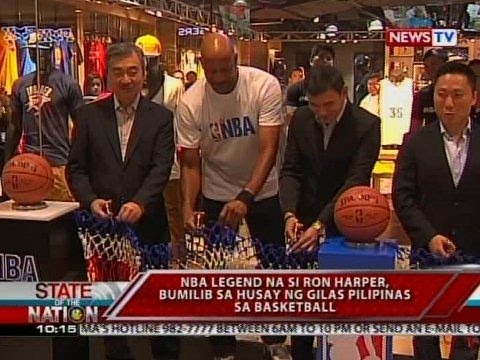 SONA: NBA Legend Ron Harper, bumilib sa husay ng Gilas Pilipinas
