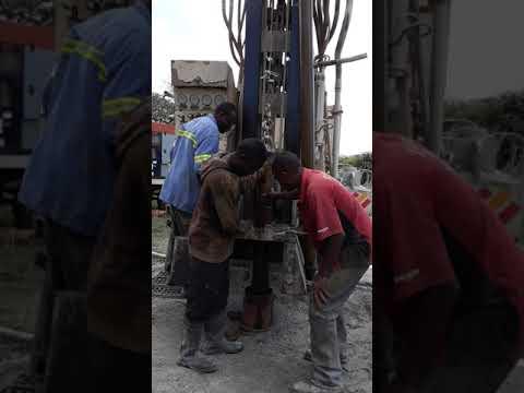 60 Metres Deep A Fishing Tool  Catch A Broken Drilling Bit