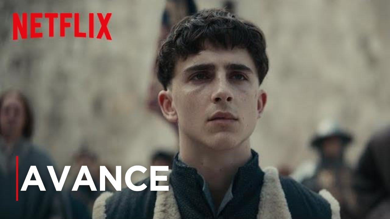 El Rey Timothée Chalamet Avance Oficial Película De Netflix