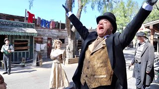 Opening Day of Ghost Town Alive 2019 at Knotts Berry Farm - NEW Calico River Rapids with Bigfoot !