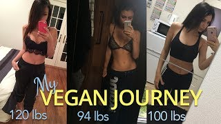 WHY I WENT VEGAN + WEIGHT LOSS BEFORE & AFTER | 20 LBS weight loss | WITH PICTURES