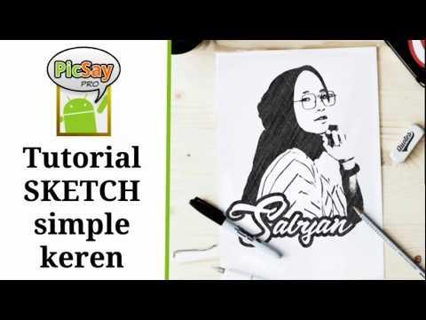 Tutorial edit foto simple keren diatas buku, Sketch, sketch book | Picsay pro thumbnail