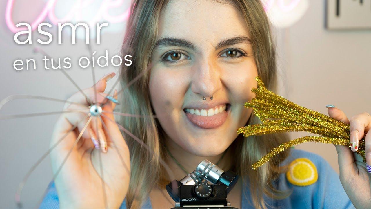 asmr en español - SUSURROS bien CERQUITA del micro para DORMIR en minutos! - Ale ASMR :)