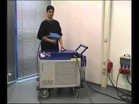 Agaria Cl Laser Cleaning Cl120 Laser System Youtube