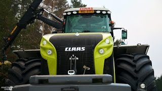 CLAAS XERION 4000 Trac VC | AHWI Chipper Hacker EC950Z