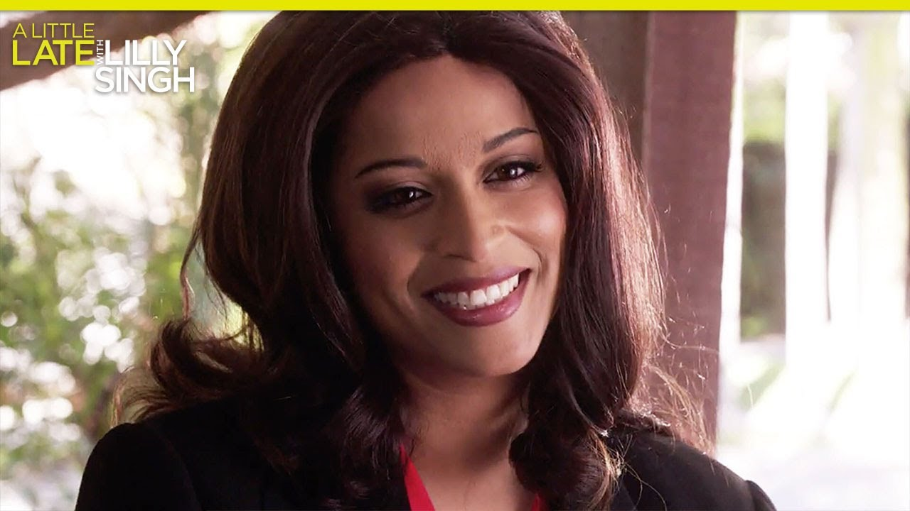 Kamala Harris Is Lilly Singh's Cousin