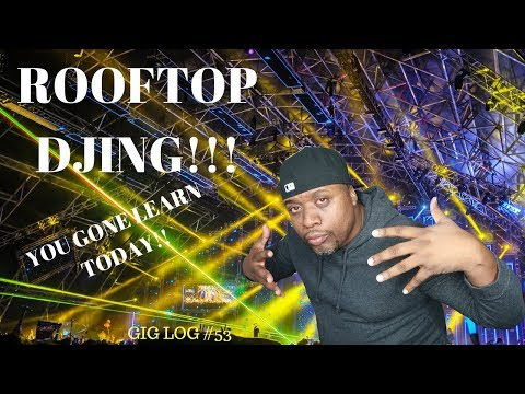 Dj Gig Log #53 Coachella Style Mixing Sorority Party/ Mobile Dj Setup 2018