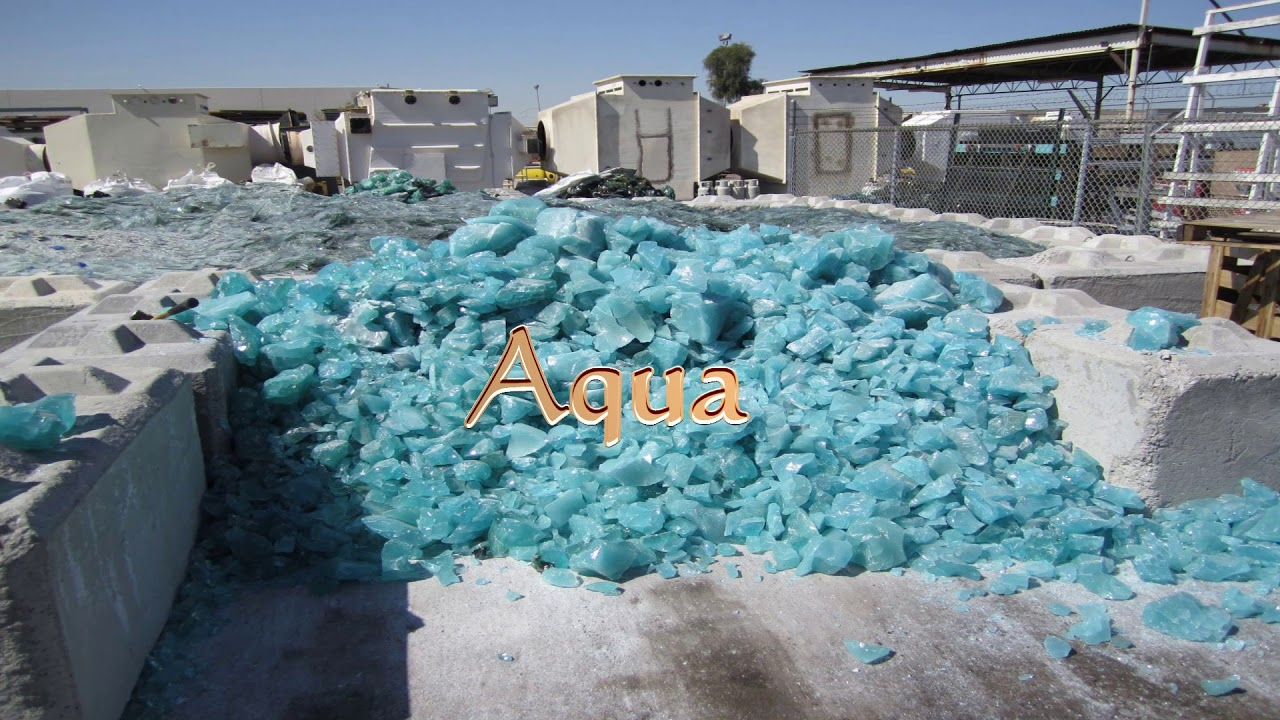 Merveilleux Production Process   Color Glass Beads For Pool Finish