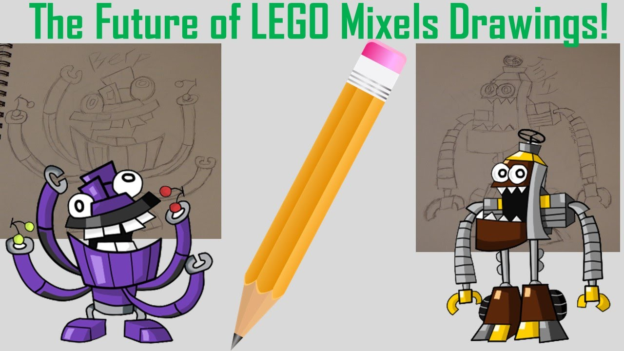 The Future Of Lego Mixels Drawings Please Watch And Give Your