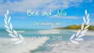 Ben and Julia // Wainui Beach // March 2018