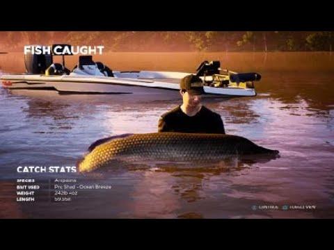 Fishing Sim World Armed--Fisherman Guns are just backup  