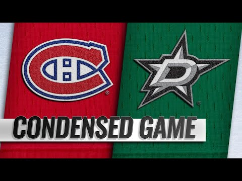 12/31/18 Condensed Game: Canadiens @ Stars