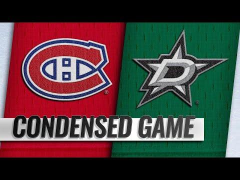 12/31/18 Condensed Game: Canadiens @ Stars