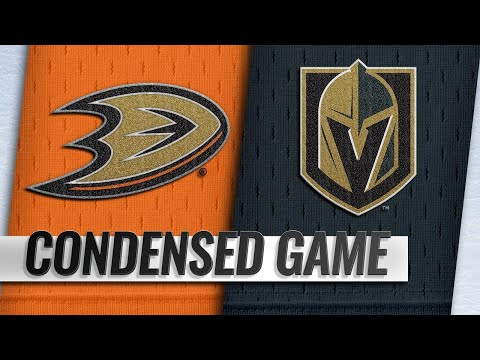 10/20/18 Condensed Game: Ducks @ Golden Knights