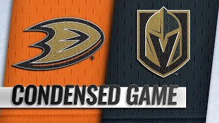 10/20/18 Condensed Game: Ducks @ Golden Knights