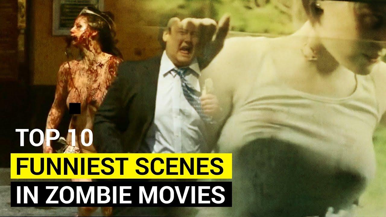 Download Top 10 funniest scenes in zombie movies  | Best zombie scenes