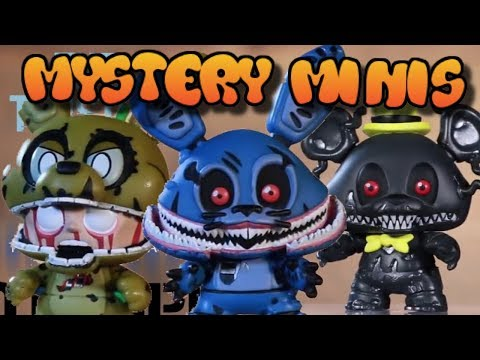 All FNaF Mystery Minis Wave 3 Closeup Look + Exclusives