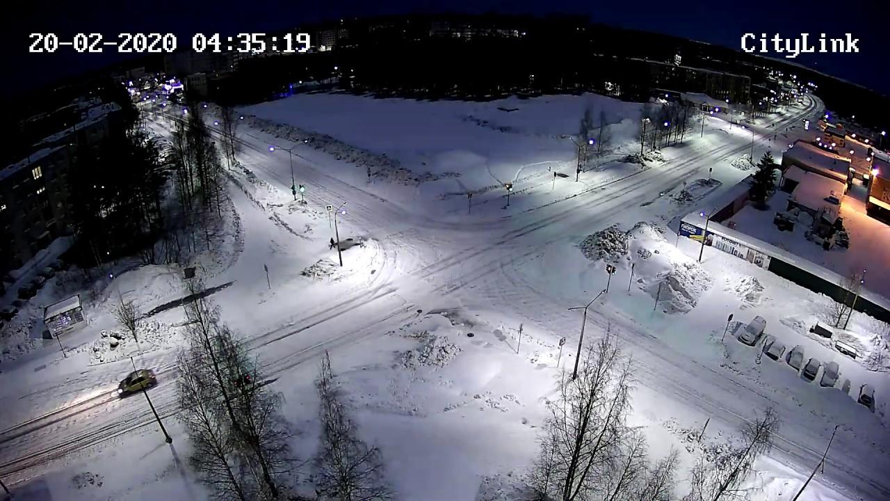 Метеорит в Костомукше 20.02.2020 - YouTube