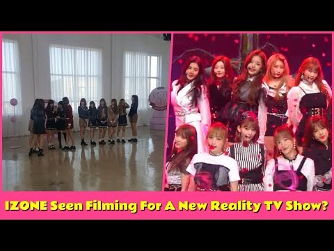 IZONE Seen Filming For A New Reality TV Show?
