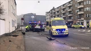 10.11.2018 - Voldsom ulykke - Hellerup