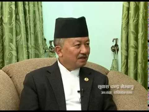 Constituent Assembly Chairperson, Subash Chandra Nembang in TOUGH talk-  93