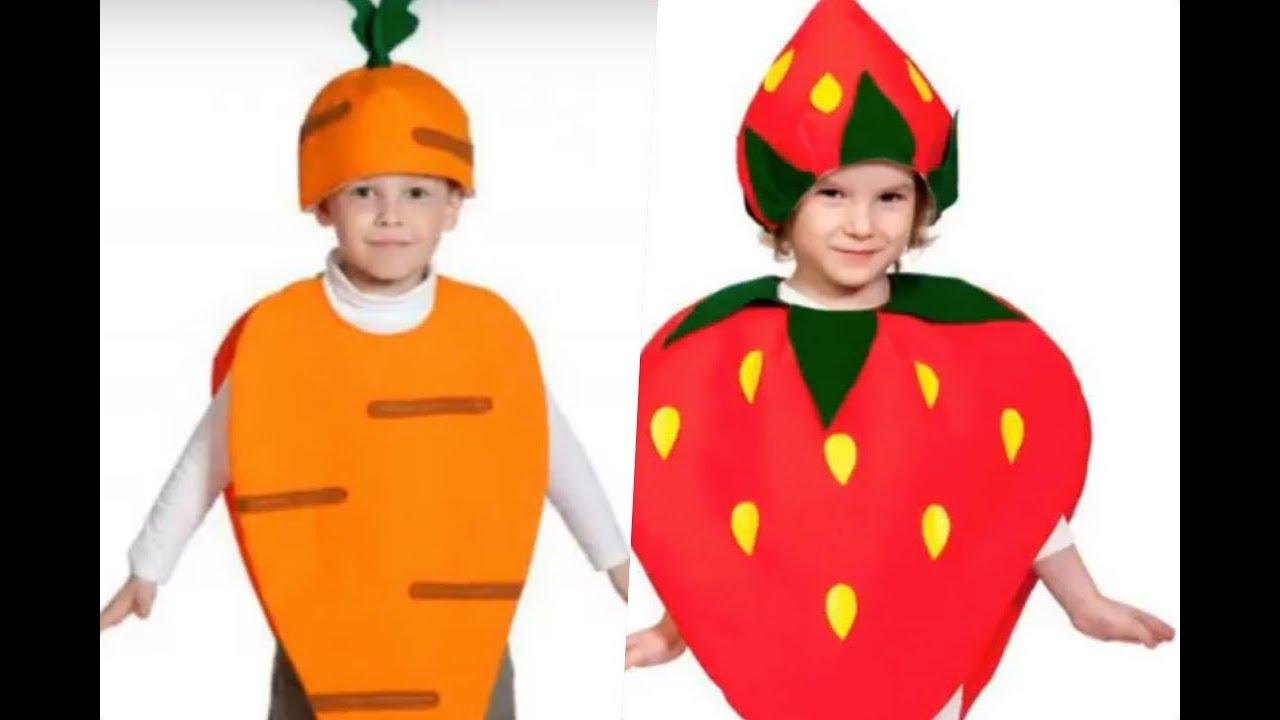 Disfraces De Frutas Y Verduras Para Niños