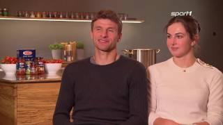 Thomas und Lisa Müller Wer klopft privat die Sprüche