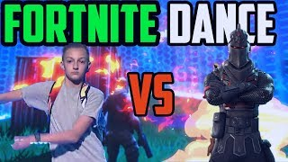 Fortnite - Dances In Real Life (VS) All Dances *NEW* Ft: Backpack Kid