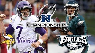 NFC Championship Game: Vikings vs Eagles Live Reaction