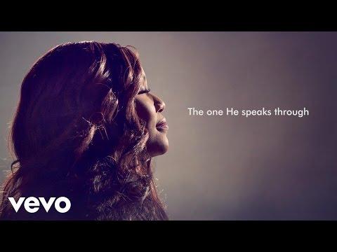 Mandisa - The One He Speaks Through (Lyric Video)