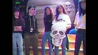 Anthrax - Headbangers Ball on the Road (January 26, 1991)