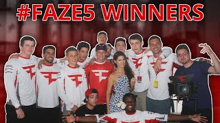 Introducing The #FAZE5 Winners