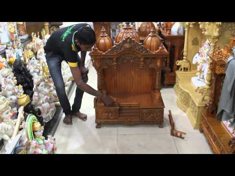 Wooden Temple for Home, USA, UK, Australia, New Zealang, Singapore, Malaysia