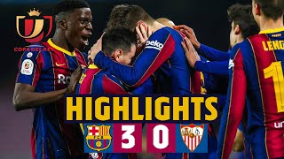 🤯 Comeback worthy of a final! | HIGHLIGHTS | Barça 3-0 Sevilla