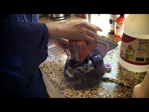 How to easily clean baseball caps   Don't Look Under The Rug® with Amy Bates