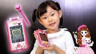 요술펜으로 빙글빙글~세라의 스마트 스케치폰 카메라 색칠놀이 게임하기 장난감 놀이 LimeTube & Toy 라임튜브