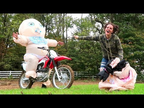 Download Youtube: GIANT BABY CHALLENGE!! (Super Funny)