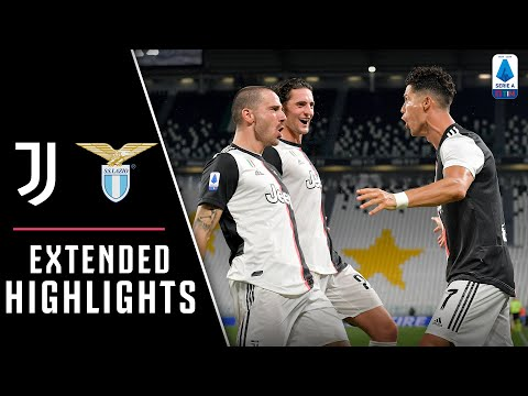 Juventus 2-1 Lazio | Penalty & Dybala Set-up as CR7 Scores Twice! | EXTENDED Highlights
