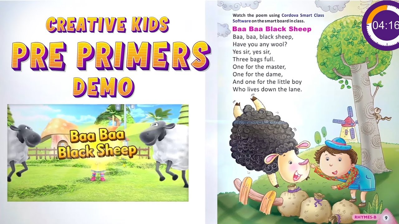 CREATIVE KIDS PRE PRIMERS | Creativs Kid App | Creative Kids Learning