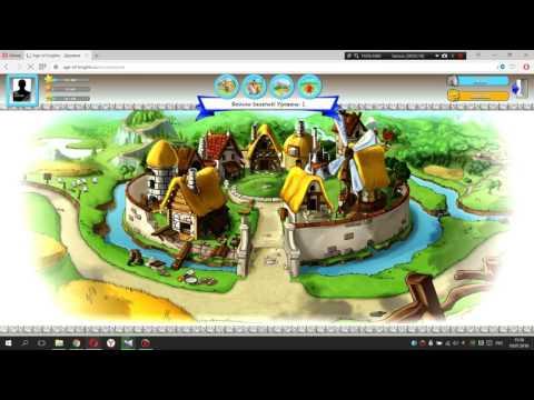 Age of Knights   Эпоха рыцарей   новая экономическая онлайн игра!