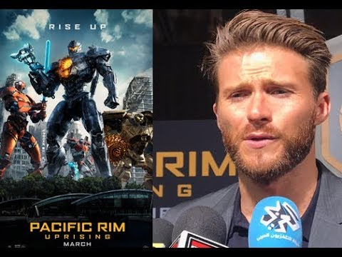 Scott Eastwood on filming in China for Pacific Rim Uprising
