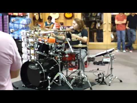 Guitar Center Drum Off El Paso Texas